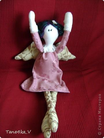 Вот такую Тильдочку принцессу сшила в подарок Полине - племяшке мужа на ДР!))))) фото 3