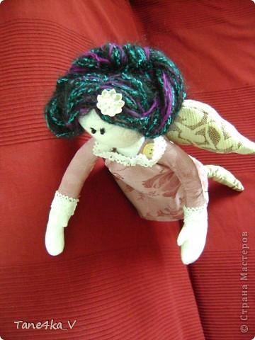 Вот такую Тильдочку принцессу сшила в подарок Полине - племяшке мужа на ДР!))))) фото 4