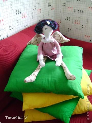 Вот такую Тильдочку принцессу сшила в подарок Полине - племяшке мужа на ДР!))))) фото 6