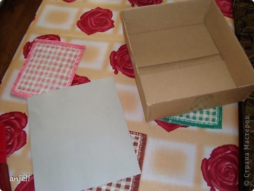 Коробка для белья своими руками мастер класс 725