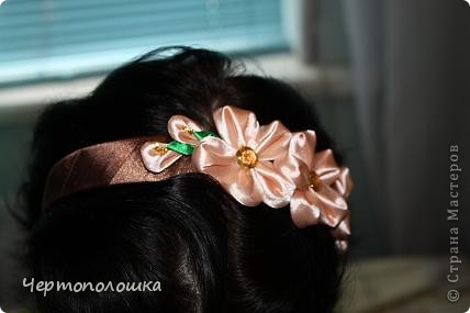 Ободочек коричневый...скромно,но симпотишно)) фото 2