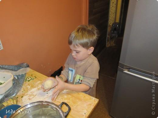 Вот такие они, пирожки с пылу с жару:) фото 2