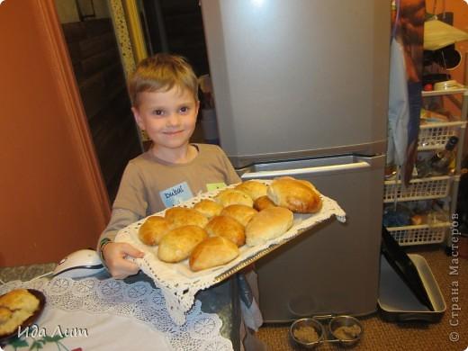 Вот такие они, пирожки с пылу с жару:) фото 3