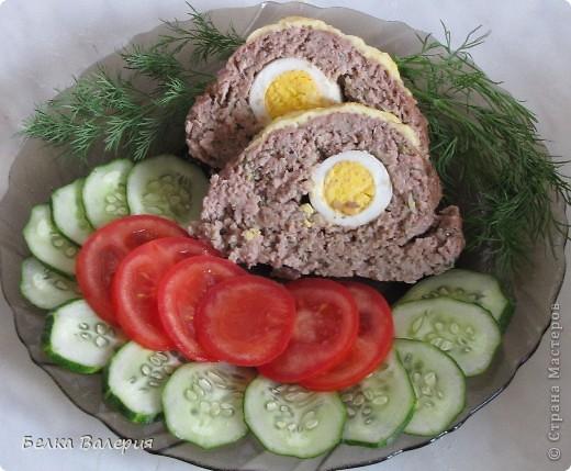 Всем доброго дня! Сегодня я к Вам с рецептом мясного рулета. фото 13