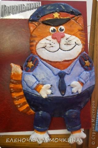 Этого котяру делала по просьбе одной знакомой.. фото 1