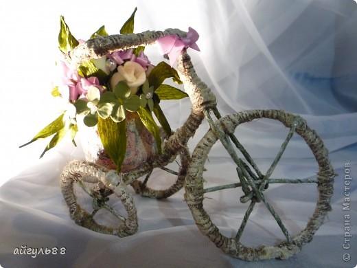 """велосипед """"деревенсий""""..... посмотрев большое количество великов ,я конечно захотела и себе...и вот они родились и сразу два... фото 6"""