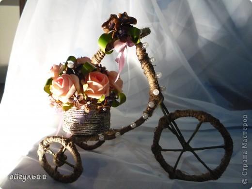"""велосипед """"деревенсий""""..... посмотрев большое количество великов ,я конечно захотела и себе...и вот они родились и сразу два... фото 5"""