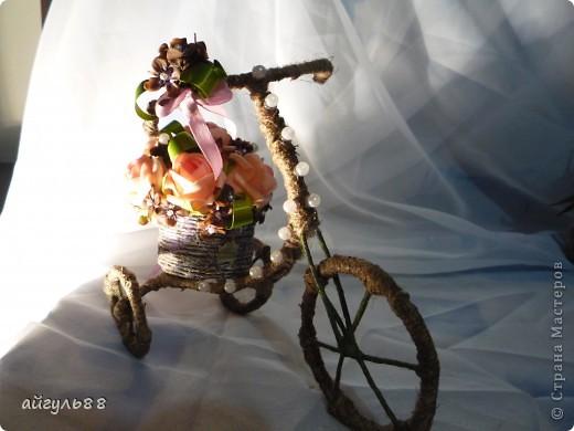 """велосипед """"деревенсий""""..... посмотрев большое количество великов ,я конечно захотела и себе...и вот они родились и сразу два... фото 4"""