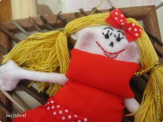 Моя первая-припервая кукла фото 2