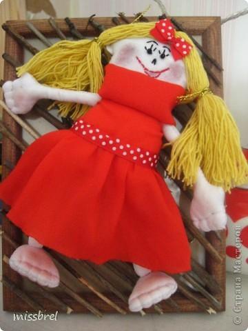 Моя первая-припервая кукла фото 1