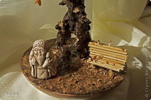 """""""Окунувшись в мир символов, мы находим определение дерева, как символ микрокосмоса - преходящего и изменчивого, а камень - вечного и неизменного - это жизнь в постоянном обновлении. Самоцветы, как листья этого дерева, символизируют сокровища знаний и истины, земную любовь и богатства."""" (с) фото 2"""