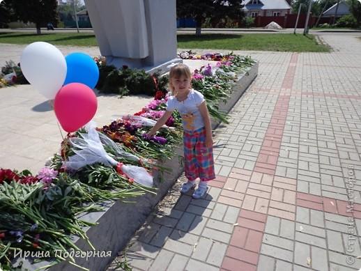 Мы с доченькой поздравляем всех жителей и гостей СМ с Праздником Победы! Мемориал Воинской Славы в станице Динской Краснодарского края. Это наши казаки! фото 6