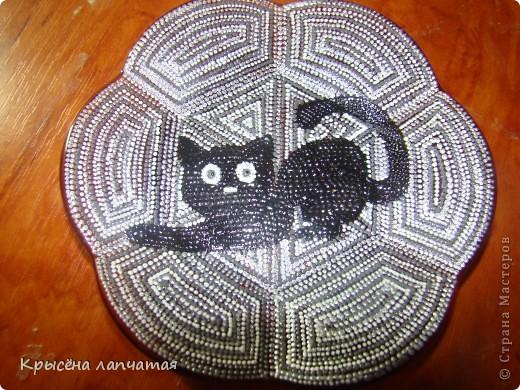 Когда то  увидела великолепную киску у Натальи http://stranamasterov.ru/node/329976 и захотелось мне тоже свою. Конечно, мой котенок не такой грациозный, да и недочетов еще валом, но я его уже полюбила) фото 3