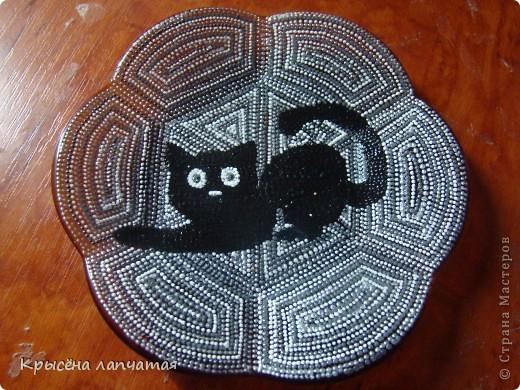 Когда то  увидела великолепную киску у Натальи http://stranamasterov.ru/node/329976 и захотелось мне тоже свою. Конечно, мой котенок не такой грациозный, да и недочетов еще валом, но я его уже полюбила) фото 2