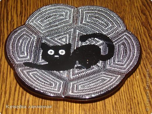 Когда то  увидела великолепную киску у Натальи http://stranamasterov.ru/node/329976 и захотелось мне тоже свою. Конечно, мой котенок не такой грациозный, да и недочетов еще валом, но я его уже полюбила) фото 1
