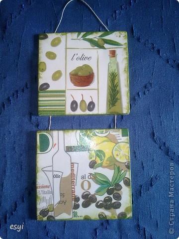 Сделалось два вида гипсовых панно на кухню. Первое с виноградом. фото 2