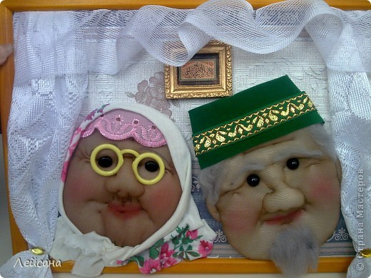 Дедушки прямо почти одинаковыми получились, хотя с одними утяжками лица кукол всегда разными выходят фото 2