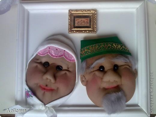 Дедушки прямо почти одинаковыми получились, хотя с одними утяжками лица кукол всегда разными выходят фото 3