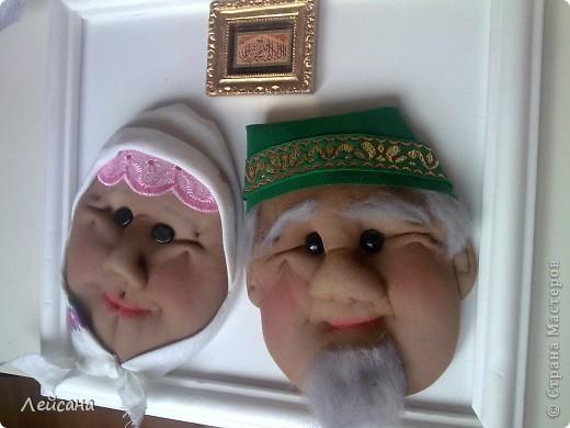 Дедушки прямо почти одинаковыми получились, хотя с одними утяжками лица кукол всегда разными выходят фото 4