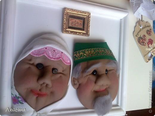 Дедушки прямо почти одинаковыми получились, хотя с одними утяжками лица кукол всегда разными выходят фото 5