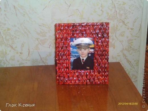 """""""Рождественская звезда"""" из гофротрубочек фото 4"""