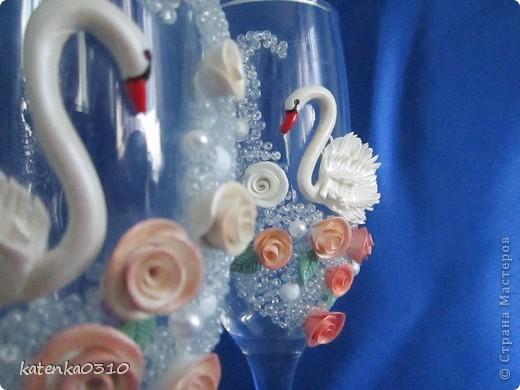 свадебные бокалы. много фото фото 1
