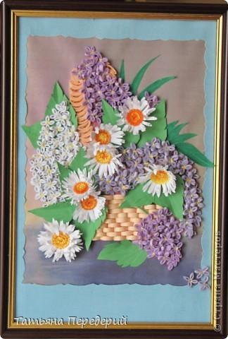 Сиренево-ромашковый рай