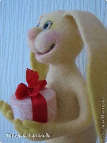 Зай появился к дню рождения маленькой девочки... фото 5