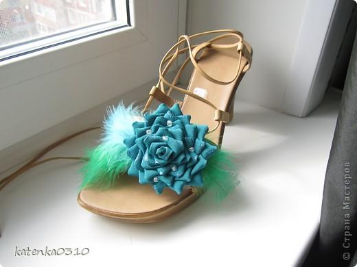 украшаем туфли фото 4