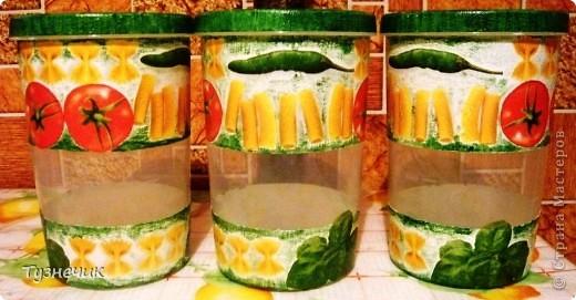 Теперь мои макаронки будут храниться вот в таких баночках... фото 2