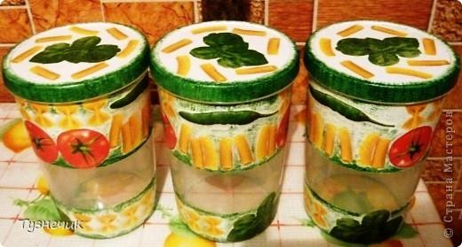 Теперь мои макаронки будут храниться вот в таких баночках... фото 3