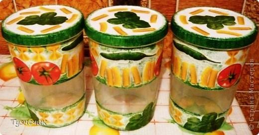 Теперь мои макаронки будут храниться вот в таких баночках... фото 7