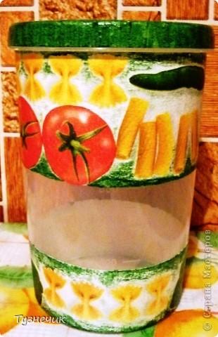 Теперь мои макаронки будут храниться вот в таких баночках... фото 4