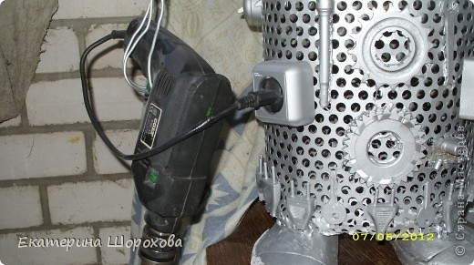 Вот и меня вдохновила работа http://stranamasterov.ru/node/334617, и я решила сделать работника в отдел по продаже элетробензоинструмента фото 7
