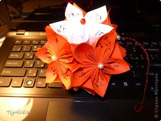 Королевская Кусудама в подарок фото 11