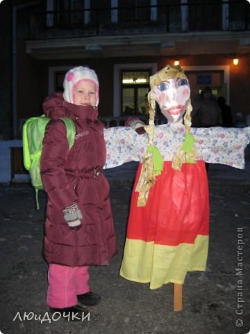 Такого дракона смастерили с дочкой на Новый год, для районной уличной ёлки. Неактуально конечно, но..... Вдруг кому-то для дачного сезона пригодится (украсить участок например). фото 13