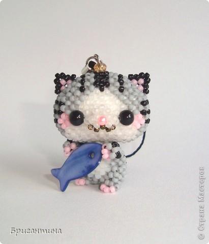 Бисероплетение Котёнок