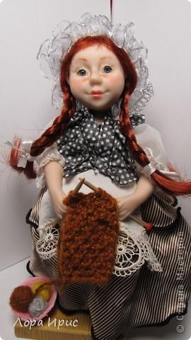 Дорогие,  мастерицы. Хочу представить вам мою новую куколку. Долго не могла ничего сотворить, не было времени. И вот ура, праздничные выходные, и появилась возможность заняться делом. фото 4