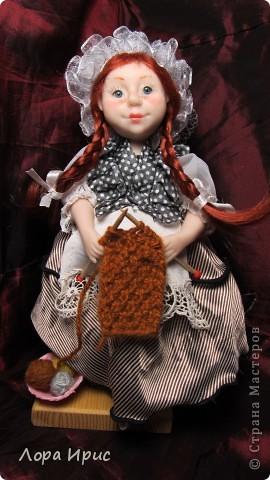 Дорогие,  мастерицы. Хочу представить вам мою новую куколку. Долго не могла ничего сотворить, не было времени. И вот ура, праздничные выходные, и появилась возможность заняться делом. фото 1