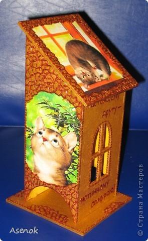 Чайный домик... любителю кошек :)))