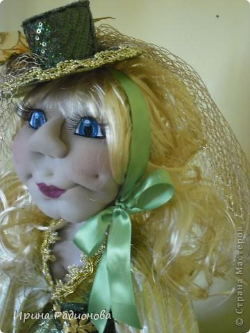 долго вынашивала идею  создания этой куклы , и вот наконец-то свершилось. Сразу хочу извиниться за то что мастер-класс не совсем подробный. не было возможности все запечатлеть. Высота куклы где-то  60 см.  фото 2