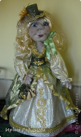 долго вынашивала идею  создания этой куклы , и вот наконец-то свершилось. Сразу хочу извиниться за то что мастер-класс не совсем подробный. не было возможности все запечатлеть. Высота куклы где-то  60 см.  фото 20