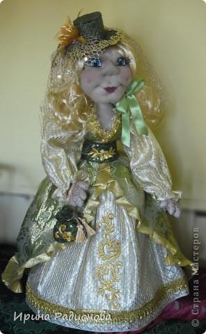 долго вынашивала идею  создания этой куклы , и вот наконец-то свершилось. Сразу хочу извиниться за то что мастер-класс не совсем подробный. не было возможности все запечатлеть. Высота куклы где-то  60 см.  фото 1