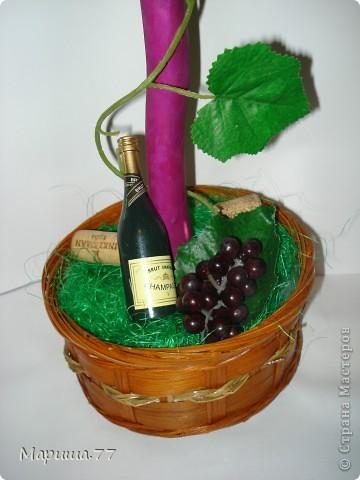 """Наконец то и я """"родила"""" Виноградное деревце!!!Идею  видела у Светленькая Лана, эммануэль 59,Рыжехвостая... фото 3"""