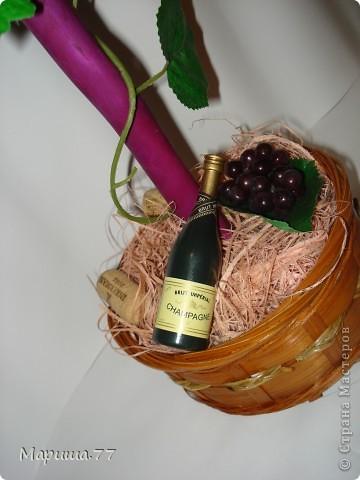 """Наконец то и я """"родила"""" Виноградное деревце!!!Идею  видела у Светленькая Лана, эммануэль 59,Рыжехвостая... фото 4"""