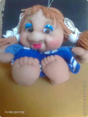 Кукла Вика.