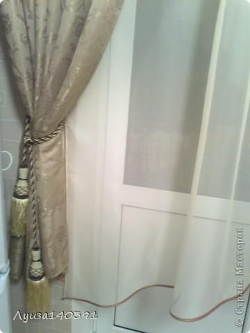 Вот такие шторы у меня получились!!! фото 4