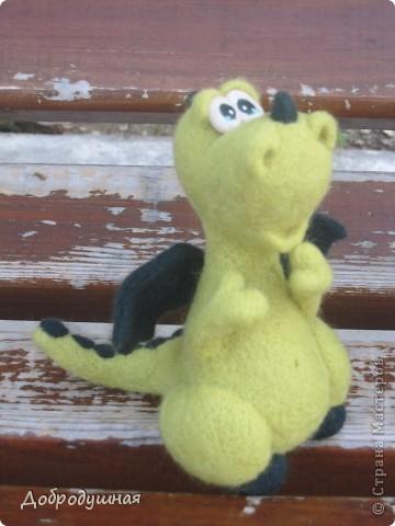 """вот такой малыш сегодня  у меня """"свалялся"""" на свежем воздухе, в парке =)))) знакомьтесь - это Ромашкин =)) фото 2"""