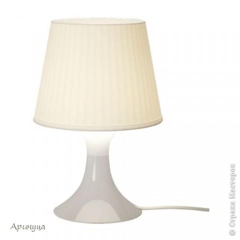 А вот и он,мой новый светильничек,стоит на прикроватном столике.Очень уютно становится в комнате,когда вечером включишь его)))) фото 2