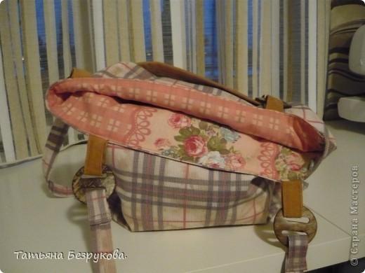 Вот такая  сумка  у меня  получилась... фото 4